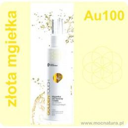 Złota mgiełka do twarzy Au100