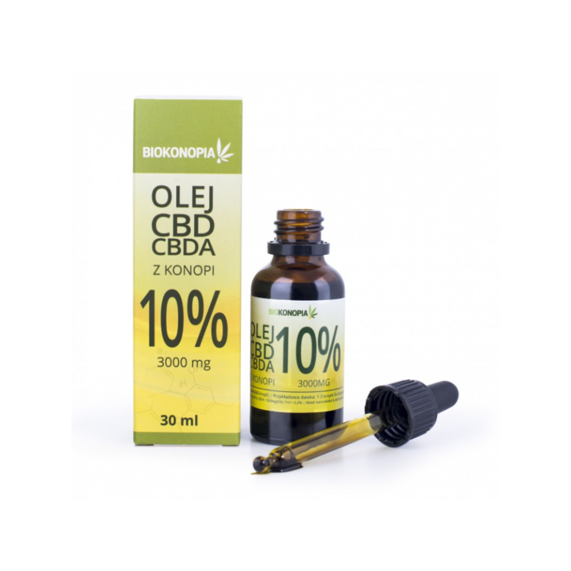 10% CBD olej z konopii