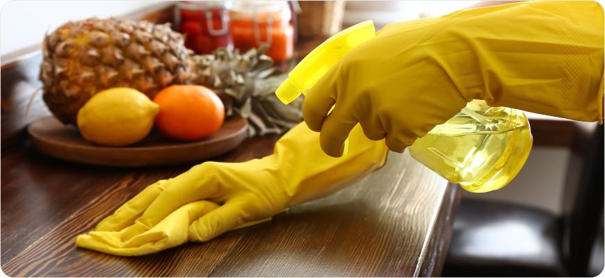 Dezynfekcja, naturalne środki czystości, higieny i ochrony
