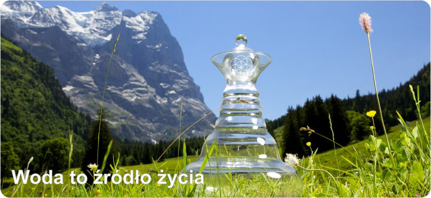 Woda przetrzymywana w  Karafkach ulega Witalizacji. Ozonatory i jonizatory powietrza.